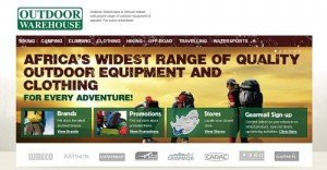 Accessories and equipment from Outdoor Warehouse stores