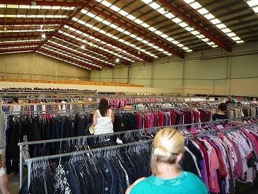 Clothing at below wholesale prices
