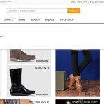 Screenshot of Zando shoes for sale