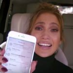 Jennifer Lopez with Cellphone