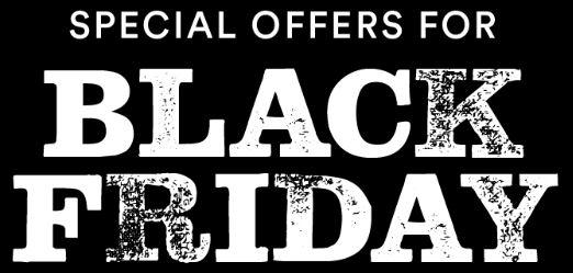 Black Friday Specials 2019